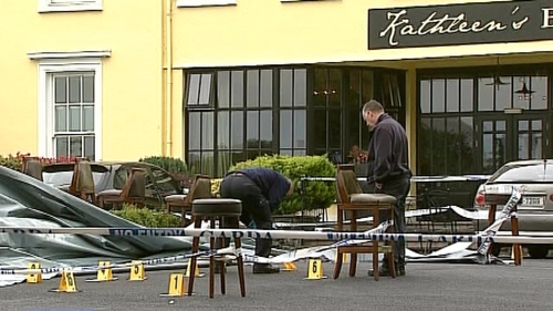 Gardaí are investigating after a man was shot in a Co Clare hotel car park