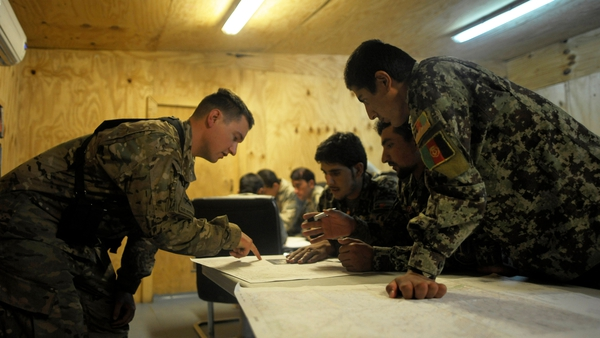 Afghan forces are due to take over security responsibilities next year