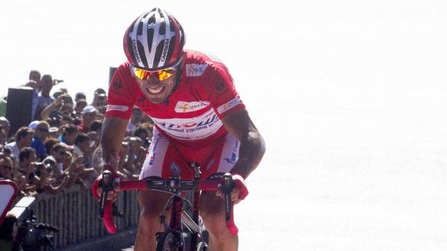 Joaquim Rodriguez retains the overall lead in La Vuelta