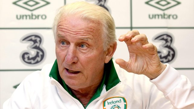 Giovanni Trapattoni insists there are numerous players ready to take up a midfield role for the Republic