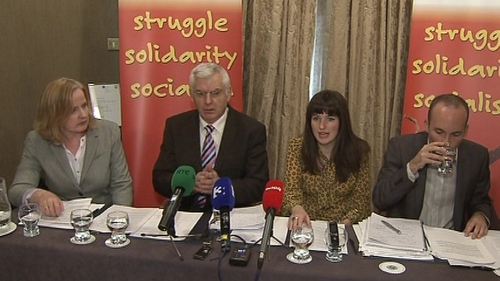 Joe Higgins said the Socialist Party was 'moving on'