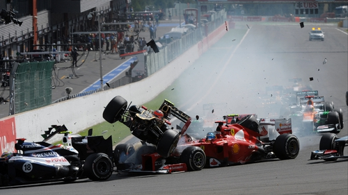 The first-corner pile-up in the Belgian GP at Spa has stoked the debate on driver safety in Formula One