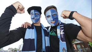 The Dubs had American support in the shape of Jack Burton from Tennessee and Colin O'Shea from Texas
