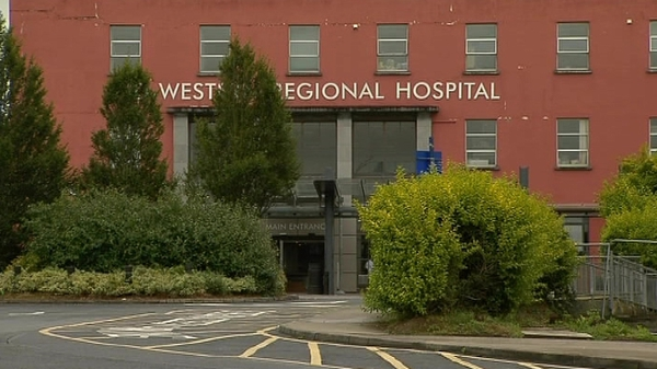 The Mid Western Regional Hospital in Limerick is the worst affected