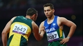 Oscar Pistorius beaten into silver in T44 200m