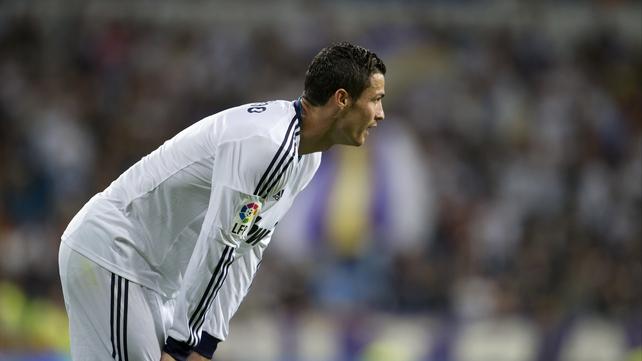 Ronaldo scored twice in Real Madrid's 3-0 win over Granada