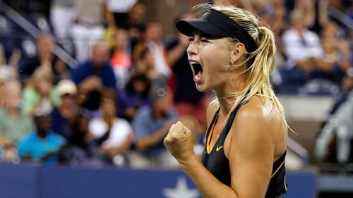 Reaching the quarter-finals of the US Open meant a lot to Russian Maria Sharapova