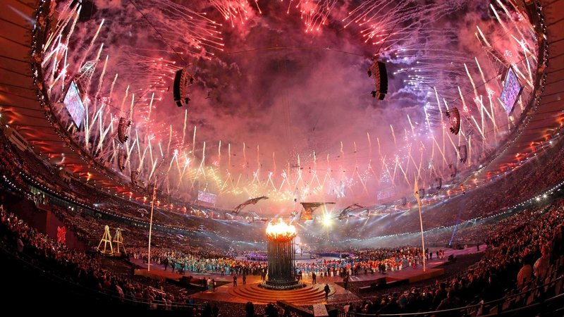 The Paralympics opening ceremony was a riot of colour