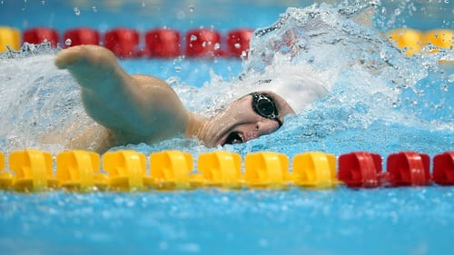 Darragh McDonald gave Ireland its second medal when competing in the 400m freestyle S6