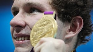 Darragh McDonald will be looking to add to his medal collection at the Aquatics Centre