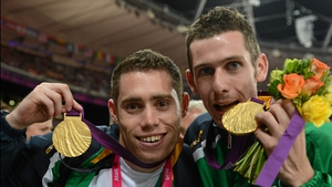 McKillop then posed for some snaps with his room-mate, who happens to be the fastest Paralympian on the planet - Jason Smyth
