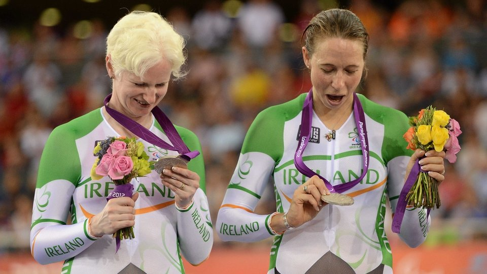 And won Ireland's fifth medal, the team's first silver