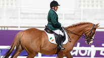 Eilish Byrne after her fourth-placed finish in the para-equestrian dressage
