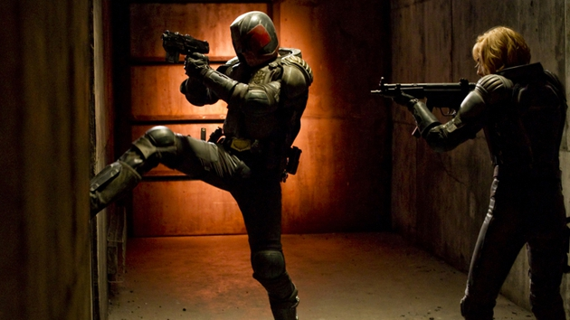 Urban kicks it as 22nd century lawman Judge Dredd