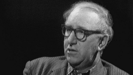 Patrick Kavanagh in 'Self Portrait'