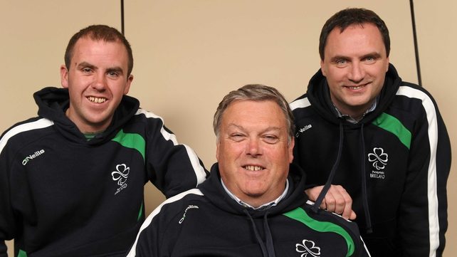 Pictured from left: Ian Costelloe, John Twomey and Anthony Hegarty
