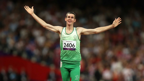 Michael McKillop was an ultra-impressive winner at the Olympic Stadium