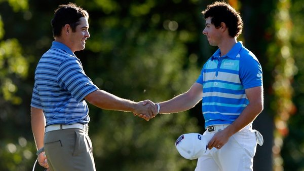 Rory McIlroy secured his fifth win on the PGA Tour on Monday after edging out Louis Oosthuizen