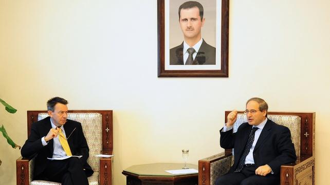 Peter Maurer also met Syrian Deputy Foreign Minister Faisal al-Miqdad