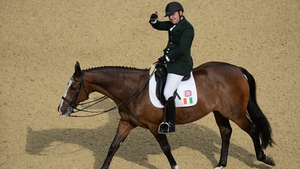 James Dwyer has placed sixth in the individual freestyle test - grade IV