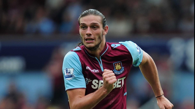 Andy Carroll is still hoping to kick-start his West Ham career