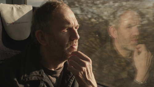 Stranger on a train -Anton Corbijn