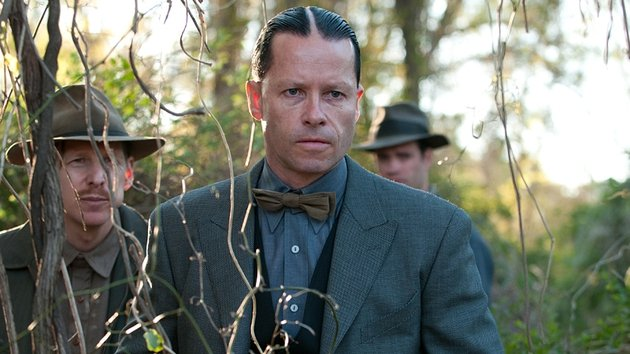 Pearce as the truly chilling bad guy