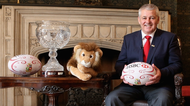 "Warren Gatland: ""I am really honoured to have been asked to take the position of head coach."""