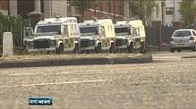 Large PSNI presence in Belfast following riots