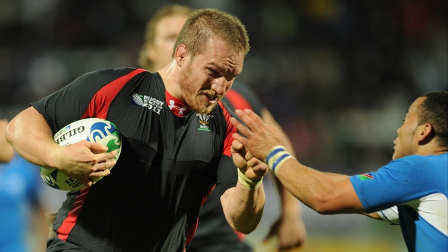 Warren Gatland will talk to French-based players like Gethin Jenkins (above)