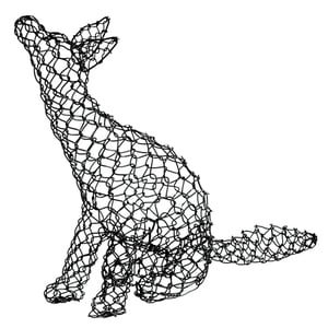 Wire fox, €34