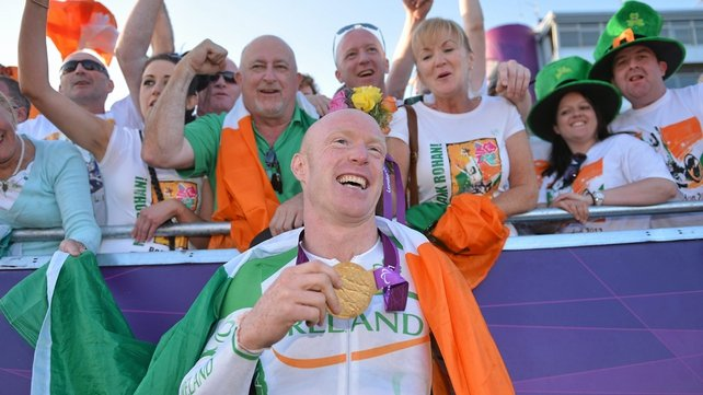 Mark Rohan has won his second gold of this year's Games