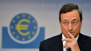 Mario Draghi said the ECB was not going to print money