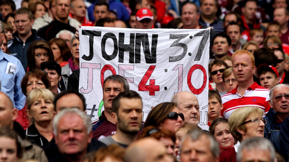 Galway fans believe Joe Canning's performances have been of biblical proportions