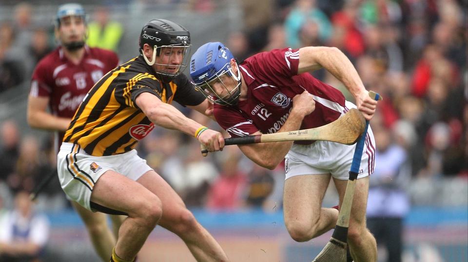 Kilkenny's Jackie Tyrell puts Cyrill Donnellan under pressure