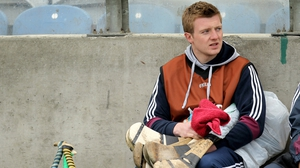 Joe Canning sat the game out as a precaution after a shoulder injury. He watched on as the Tribesmen won 5-19 to 4-12