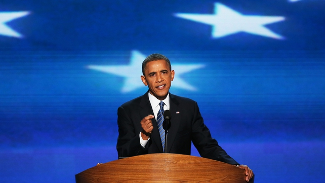 Mr Obama rejected Mitt Romney's policies, saying they were heartless