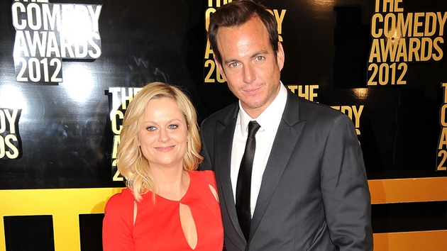 Will Arnett (here with ex-wife Amy Poehler) stars in new US comedy The Millers