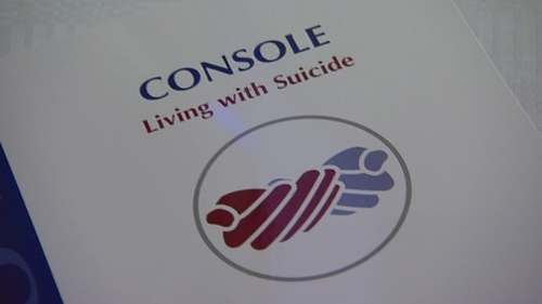 A conference on suicide has heard from Console on standards of service for those affected by the issue