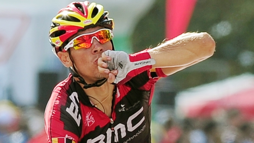 Philippe Gilbert won stage 12 of the Vuelta