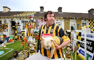 Miles 'Elvis' Kavanagh at his home in 'Graceland' (Kilkenny city)