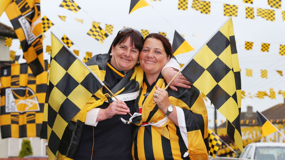 Anne Duggan and Veronica Maher from Pearse Street in Kilkenny