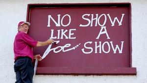 No show like a Joe show...