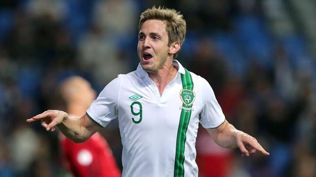 Kevin Doyle celebrates his late winner