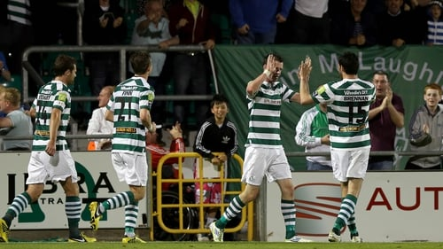 Shamrock Rovers missed out on European football for the 2013 season after finishing fourth in the Airtricity Premier Division