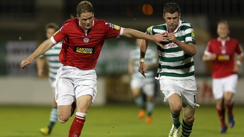 Shelbourne and Shamrock Rovers finished all square