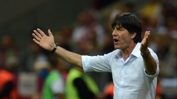 Joachim Loew is pressing ahead with his policy of blooding young goalkeepers