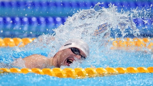 Darragh McDonald has placed fourth in the S6 100m freestyle final