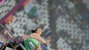 Orla Barry won bronze for Ireland with a throw of 28.12m in the F57 discus