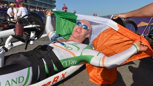 Mark Rohan took gold in the road cycling individual H1 time trial